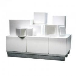 Isoleringsboxar - frigolitlådor